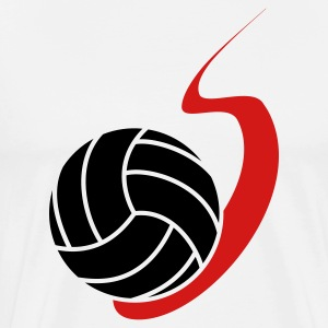 Flying Volleyball T-Shirts - Men's Premium T-Shirt