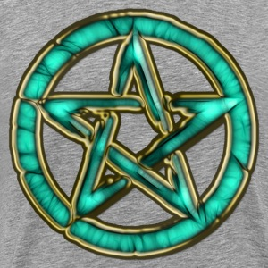 PENTAGRAM - ocean green | men's 3XL shirt - Men's Premium T-Shirt