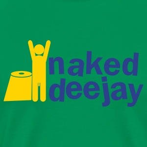 naked deejay (with a willy) T-Shirts - Men's Premium T-Shirt