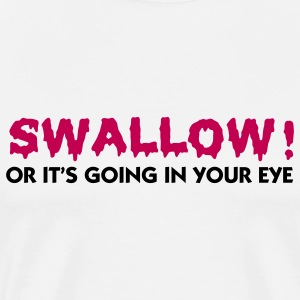 Swallow (2c) T-Shirts - Men's Premium T-Shirt