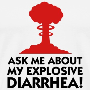 Explosive Diarrhea (2c) T-Shirts - Men's Premium T-Shirt