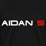 Design ~ Aidan 5 Men's 3XL T-Shirt - Logo