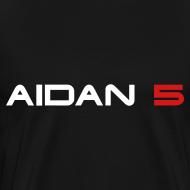 Design ~ Aidan 5 Men's 3XL T-Shirt - Logo