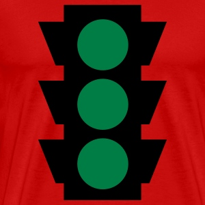 traffic light 2c T-Shirts - Men's Premium T-Shirt