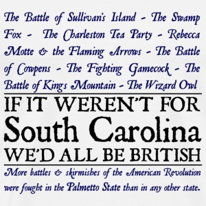 South Carolina British - Men's Premium T-Shirt