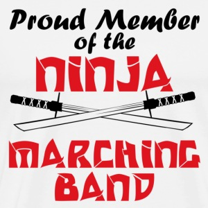 Ninja Marching Band - Men's Premium T-Shirt