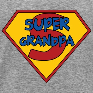 Super Grandpa T-Shirts - Men's Premium T-Shirt