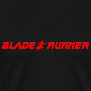 Blade Runner Logo - Men's Premium T-Shirt