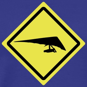 hang glider roadsign T-Shirts - Men's Premium T-Shirt
