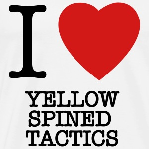 yellow spined tactics Charlie Sheen t-shirts - Men's Premium T-Shirt