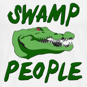 Swamp People Alligator T-Shirts - Men's Premium T-Shirt