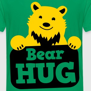 bear hug cute grizzly bears Kids' Shirts - Kids' Premium T-Shirt