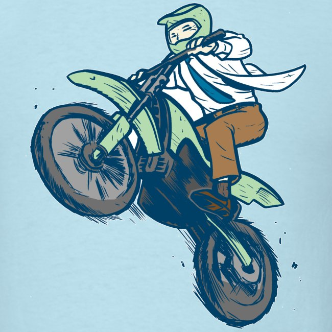 Dr. Dirtbike on Blue!
