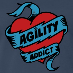 Dog Agility Addict T-Shirts - Men's Premium T-Shirt