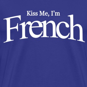 Kiss me i'm french - Men's Premium T-Shirt