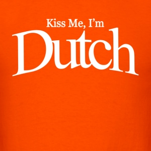 Kiss me i'm dutch - Men's T-Shirt