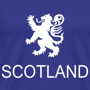 Scotland rampant lion - Men's Premium T-Shirt