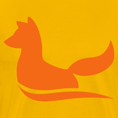 an elegant fox T-Shirts