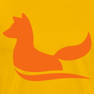 an elegant fox T-Shirts - Men's Premium T-Shirt