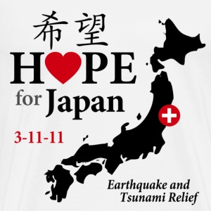 Hope for Japan T-Shirts - Men's Premium T-Shirt