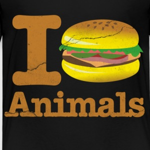 I Eat Animals Hamburger Toddler Shirts - Toddler Premium T-Shirt