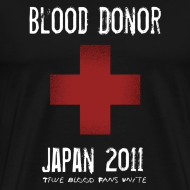 Design ~ True Blood Donor - Aid to Japan (Black)