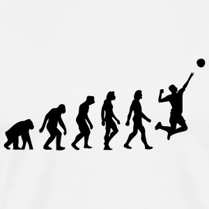 Evolution Volleyball (1c) T-Shirts - Men's Premium T-Shirt