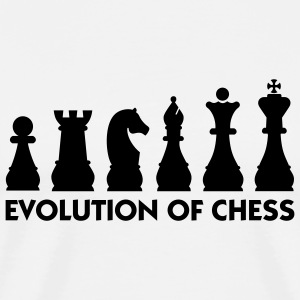 Evolution Chess 2 (1c) T-Shirts - Men's Premium T-Shirt