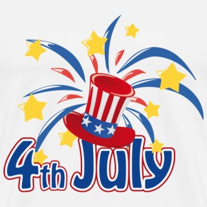 Fourth of July Independence Day T-Shirt - Men's Premium T-Shirt
