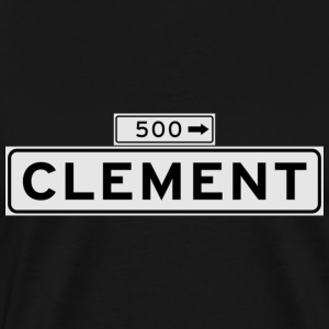 Clement Street San Francisco T-shirt - Men's Premium T-Shirt