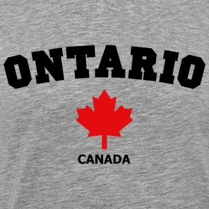 Ontario Block Heavyweight T-Shirt - Men's Premium T-Shirt