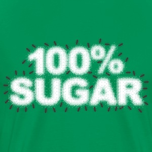 100% SUGAR - Men's Premium T-Shirt