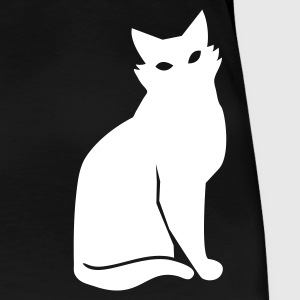 simple black cat Plus Size - Women's Premium T-Shirt