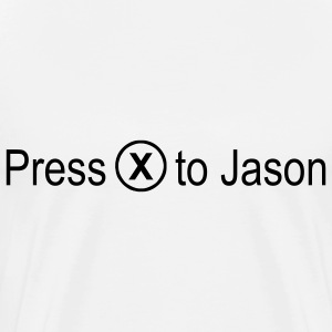 Press 'x' to Jason - Men's Premium T-Shirt