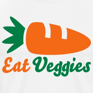 Eat Veggies T-Shirts - Men's Premium T-Shirt