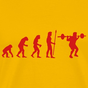 evolution_bodybuilding1 T-Shirts - Men's Premium T-Shirt