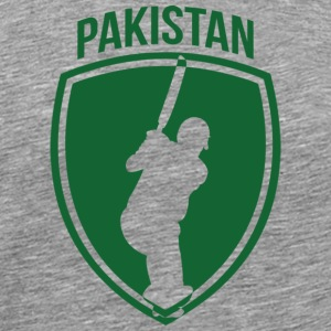 Pakistan Cricket Crest - Men's Premium T-Shirt
