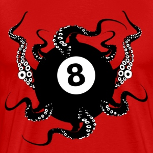 8 BALL OCTOPUS - Men's Premium T-Shirt