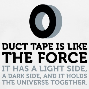 Duct Tape The Force (2c) T-Shirts - Men's Premium T-Shirt