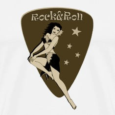 Retro beauty rocks! by Patjila T-Shirts