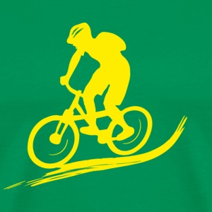 Biker Mountainbike Bike MTB Downhill sport biking cycling T-Shirts - Men's Premium T-Shirt