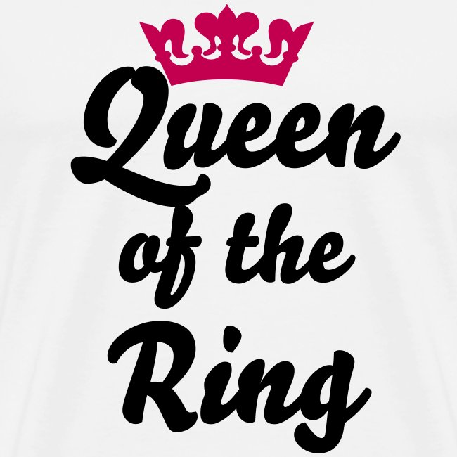 Queen of the Ring (3XL white)