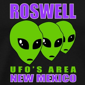 Roswell UFO's AREA - Men's Premium T-Shirt