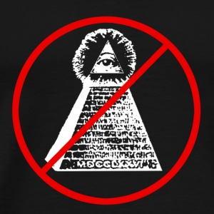 ANTI ILLUMINATI - Men's Premium T-Shirt