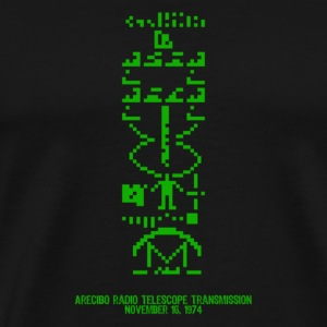 1974 Arecibo Transmission - Men's Premium T-Shirt