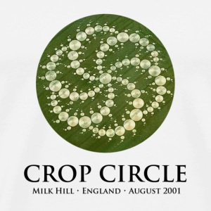 Crop Circle - Men's Premium T-Shirt