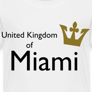 United Kingdom of Miami Toddler Shirts - Toddler Premium T-Shirt
