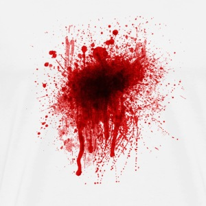 Blood Splatter T-Shirts - Men's Premium T-Shirt