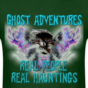 Ghost Adventures Real People Real Huntings T-Shirt - Men's T-Shirt