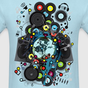 Earth_Music - Men's T-Shirt